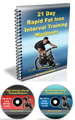 21 Day Rapid Fat Loss Blueprint - Interval Workout DVD's